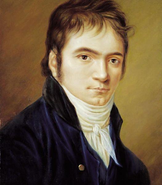Beethoven, Christian Horneman, 1803