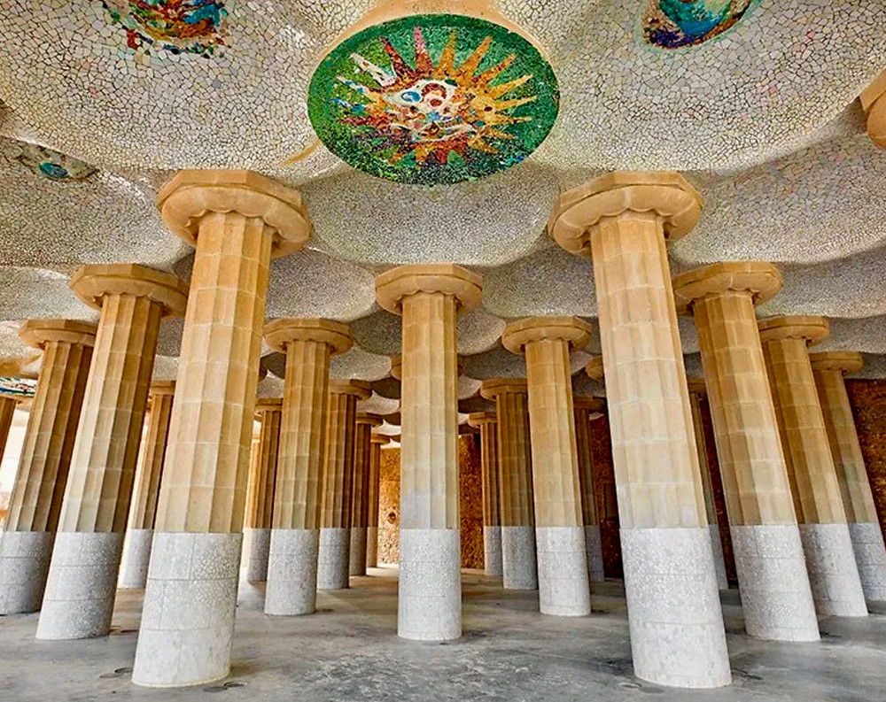 the Hypostyle Room in Park Guell