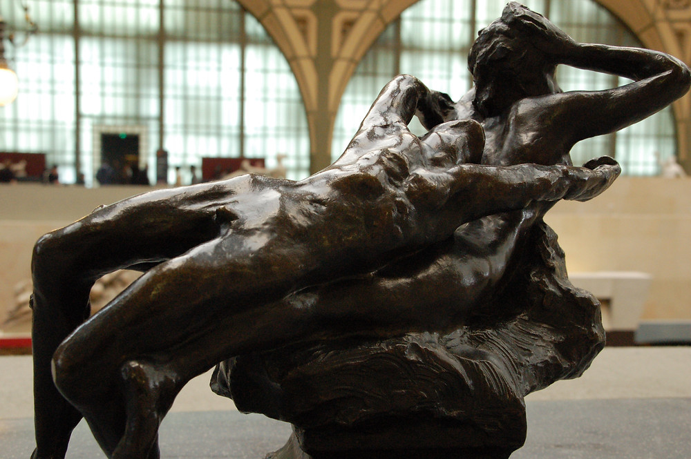 Auguste Rodin, Fugitive Love, 1886