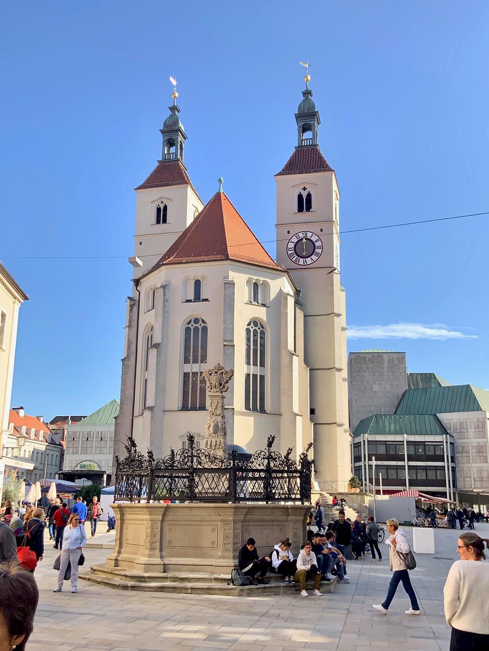 the Neupfarrkirche chapel