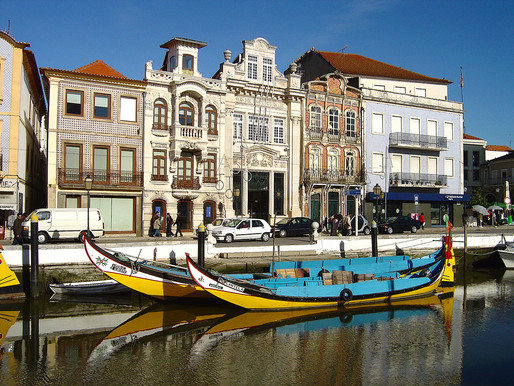 "Aveiro Is Decidedly Not The ""Venice of Portugal"""