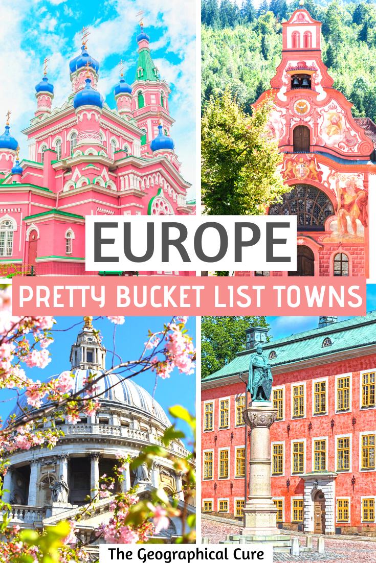 pretty bucket list town in Europe that are hidden gems