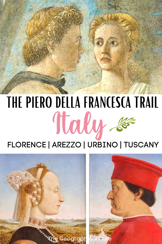 guide to Piero della Francesca's art in Italy