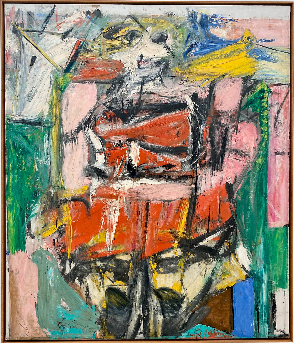 Willem de Kooning, Woman VI, 1953