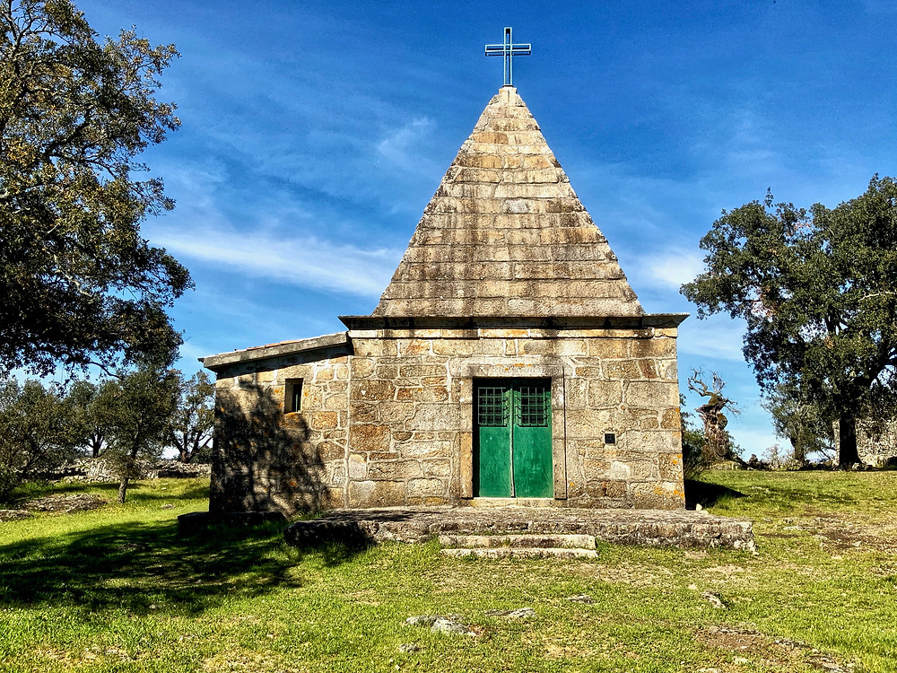 the reconstructed Chapel of São Romão
