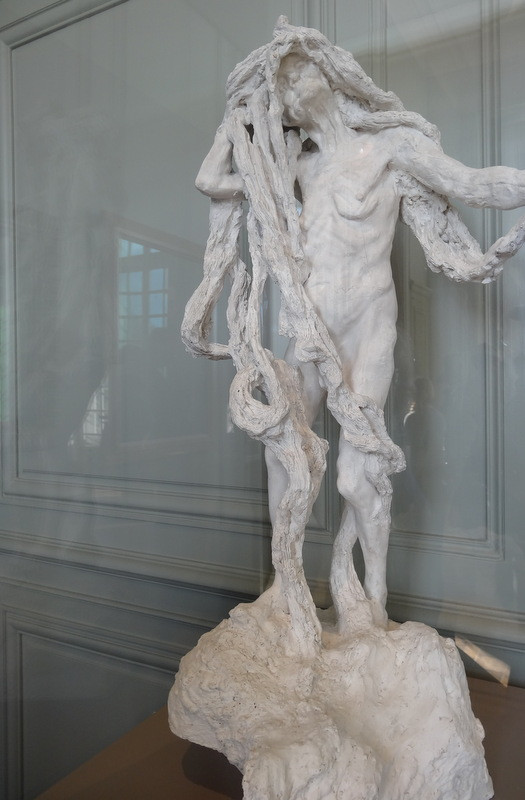 Camille Claudel, Clotho, 1893 -- a study on old age, and the exact opposite of Claudel's famed the Waltz