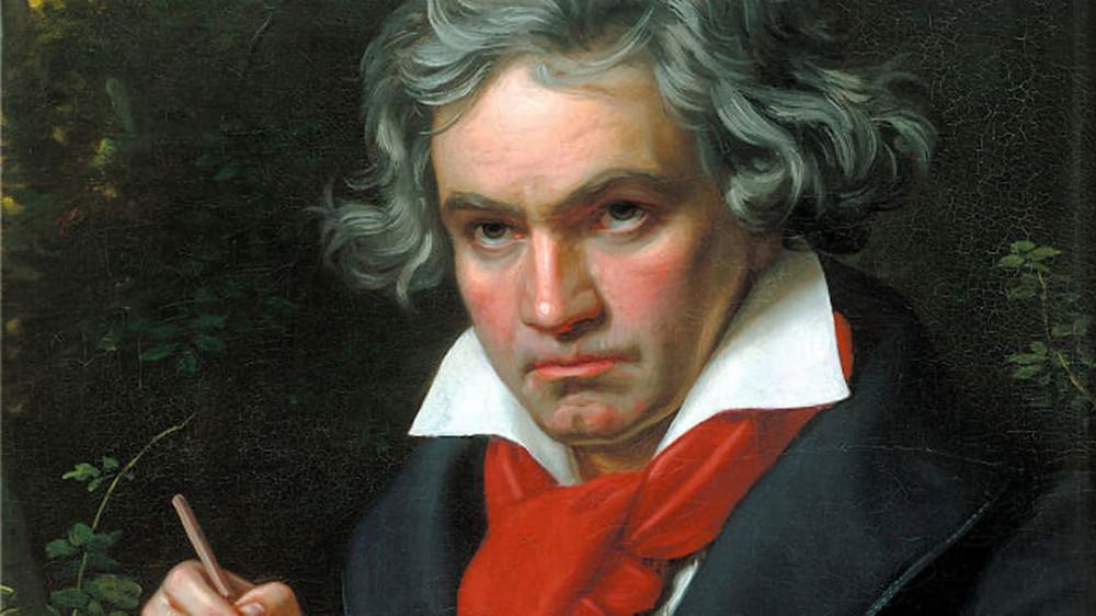 Beethoven, Joseph Karl Stieler, 1820