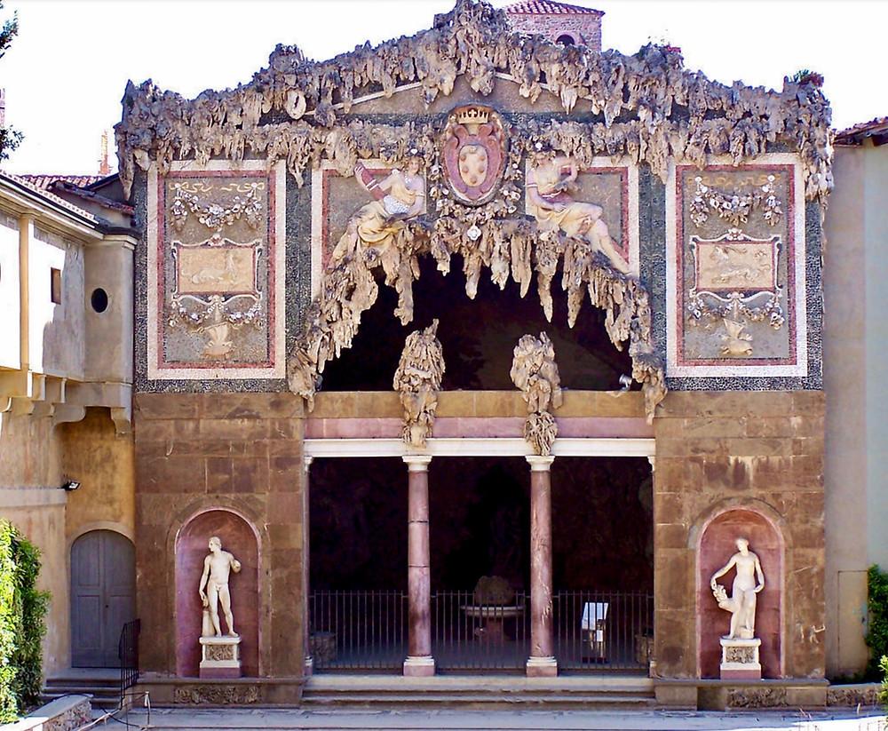 entrance to the Grand Grotto in the Boboli Gardens