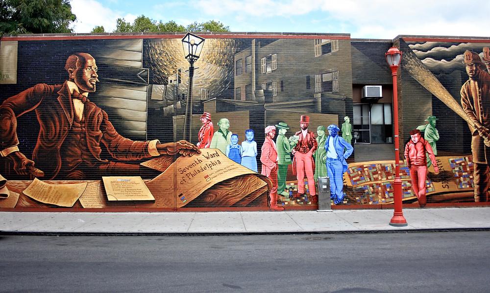 street art mural on South Street