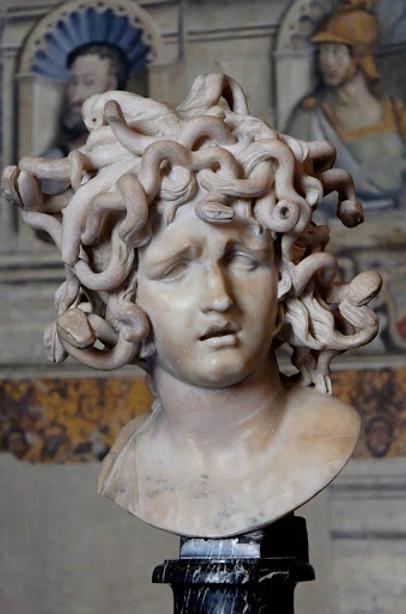 Gian Lorenzo Bernini, Medusa, circa 1630s