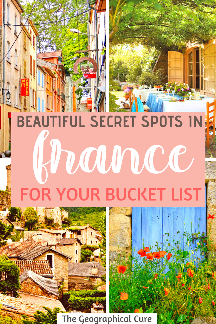 Secret Towns in France for Your Bucket List