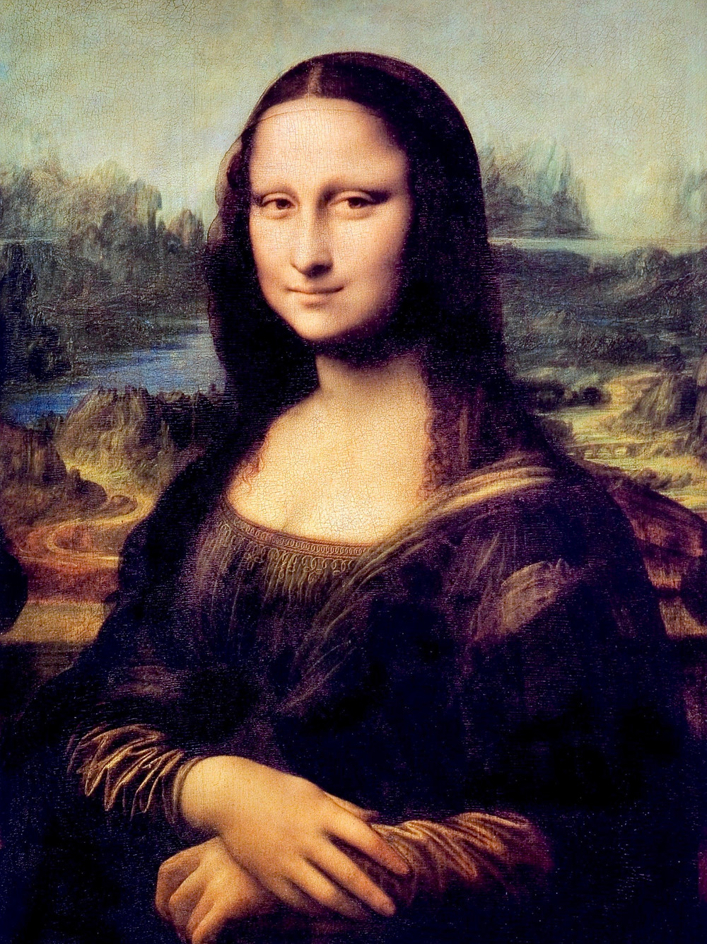 Leonardo da Vinci, Mona Lisa, 1503-19