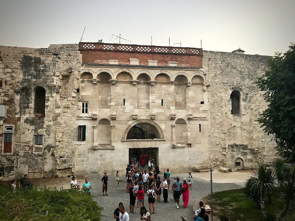 the Golden Gate at Diocletian's Palace