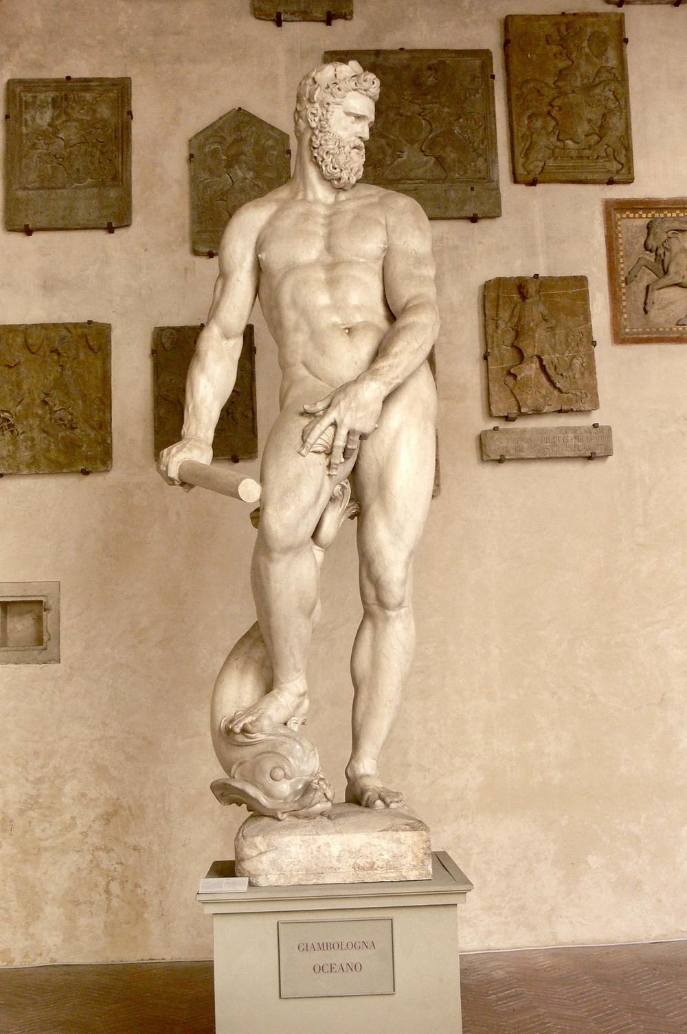 Giambologna, Oceanus, 1576