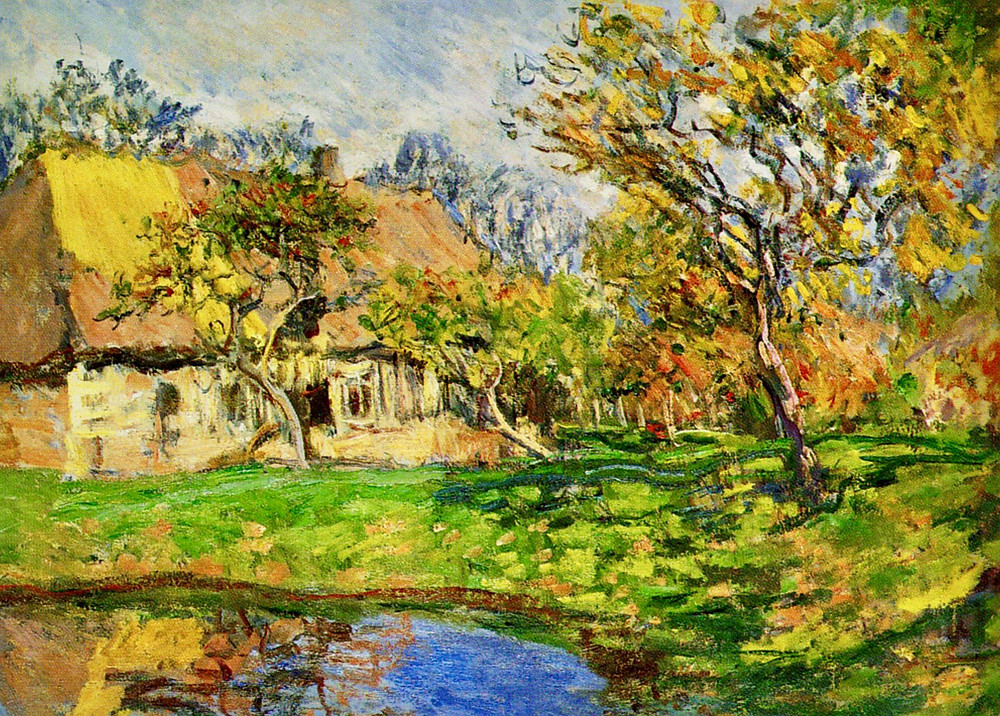 Monet, Cottage in Normandy, 1878