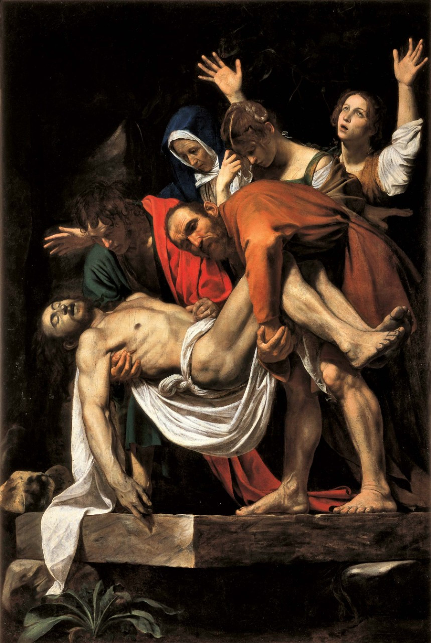 Caravaggio, The Entombment of Christ, 1603