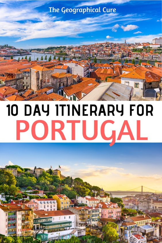 10 day itinerary for Portugal