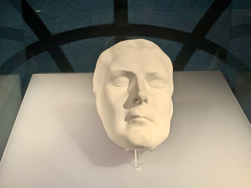Sisi's death mask