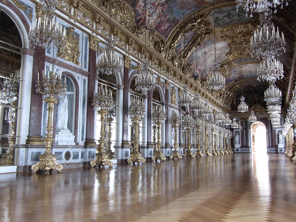 Herrenchiemsee Palace Hall of Mirrors