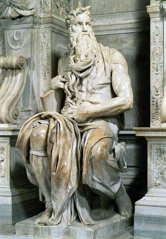 Michelangelo's Moses sculpture