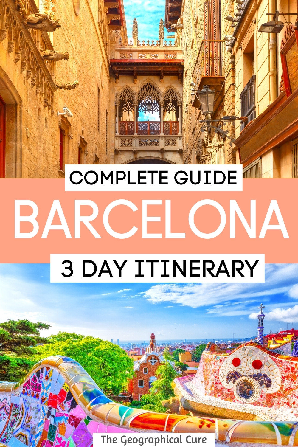 3 Day Itinerary for Barcelona Spain