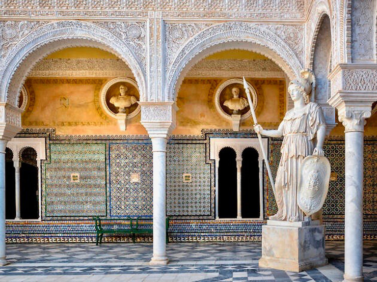 courtyard of the Casa de Pilatos