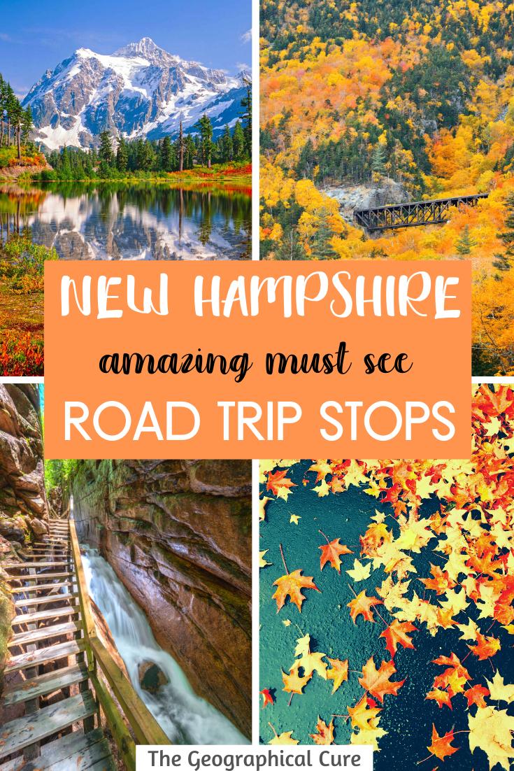 Amazing Road Trip Destinations in New Hampshire