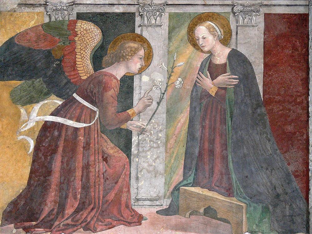 The Annunciation by Melozzo da Forli