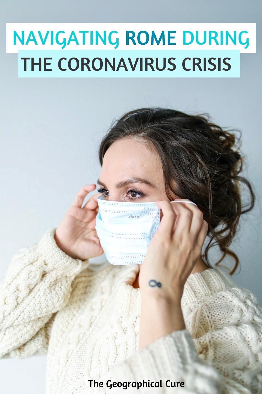 navigating Rome during the coronavirus crisis