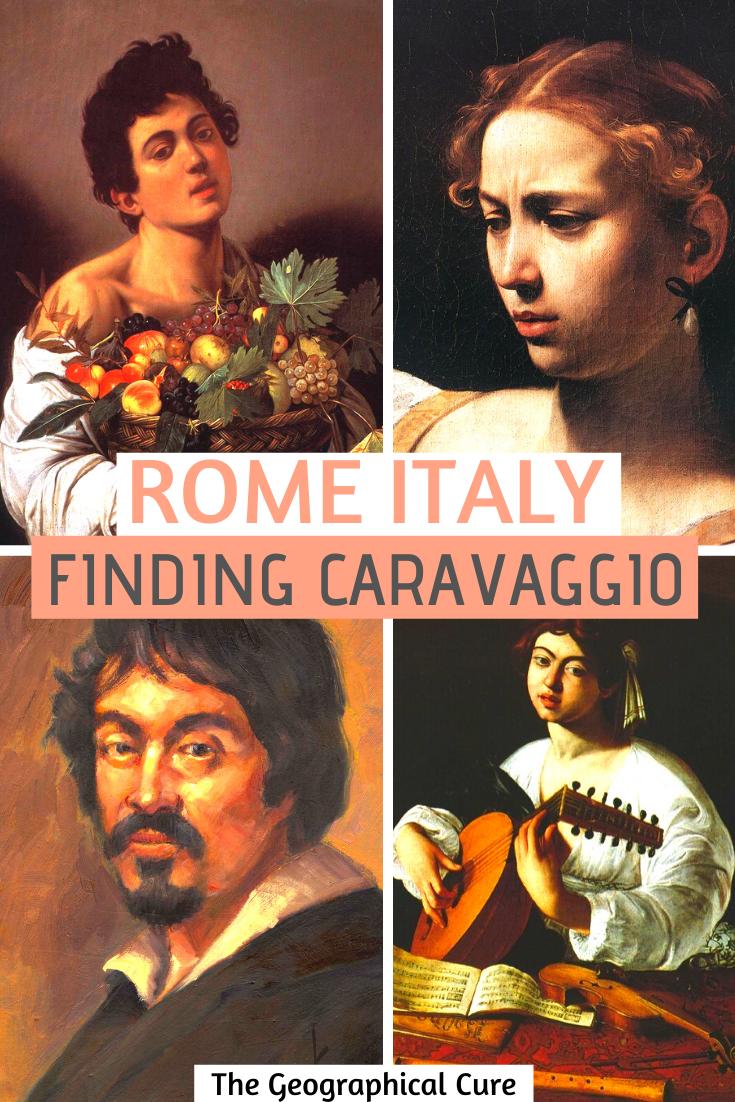 Rome Italy: Find Caravaggio's Artworks in Rome