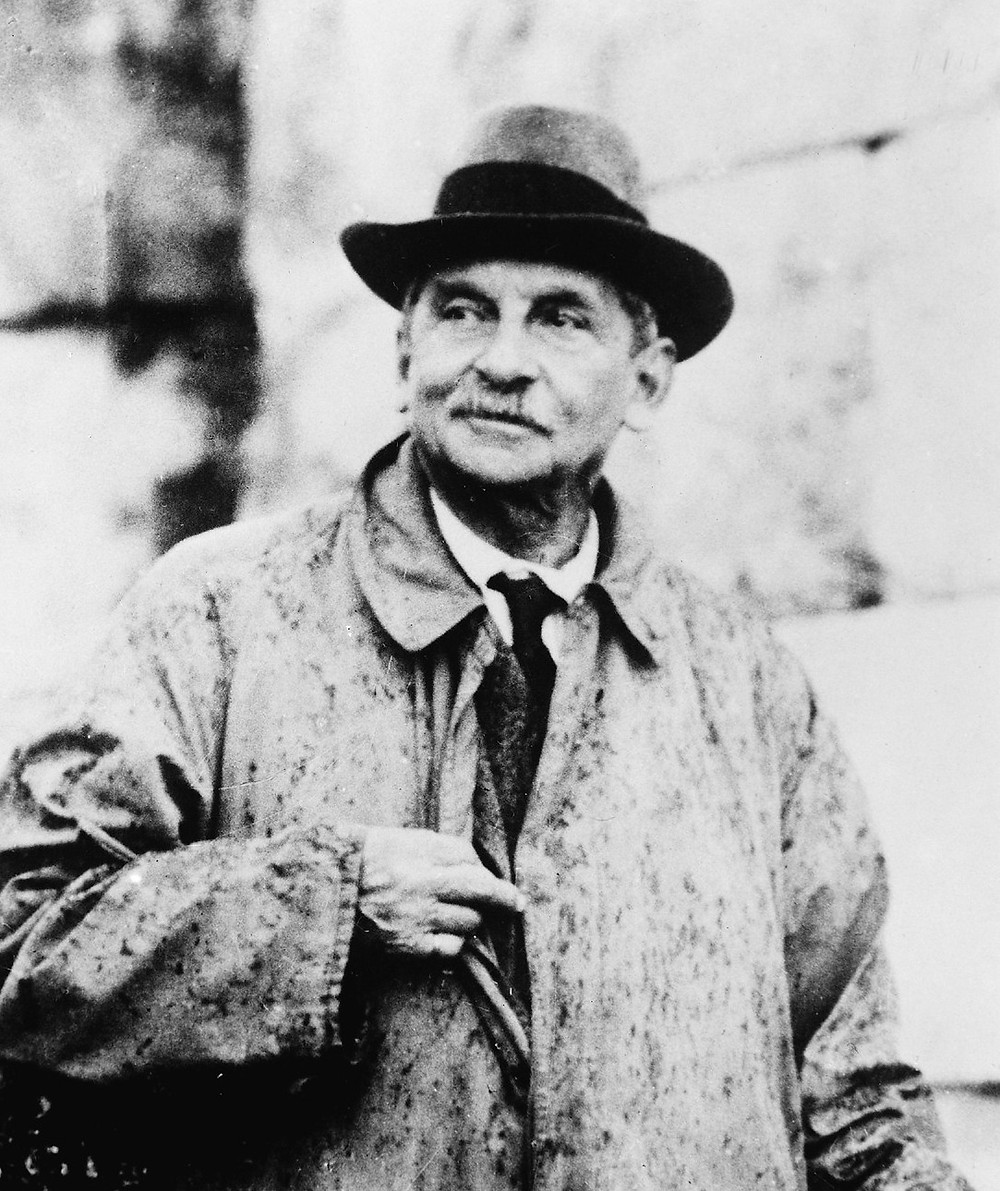 Arthur Evans, British archaeologist and discovered of Knossos