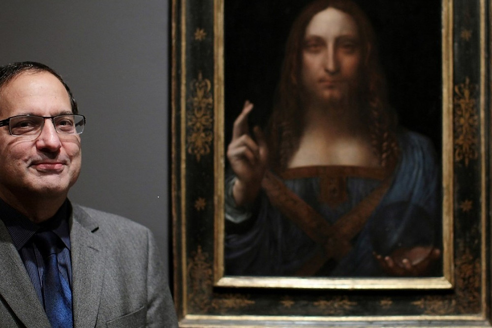 New York art dealer Robert Simon, along with Alexander Parrish paid $10,000 for the alleged da Vinci painting at an estate auction in 2005. Photo: Handout