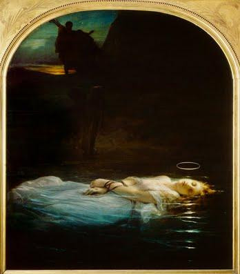 The Young Martyr by Deleroche at the Louvre