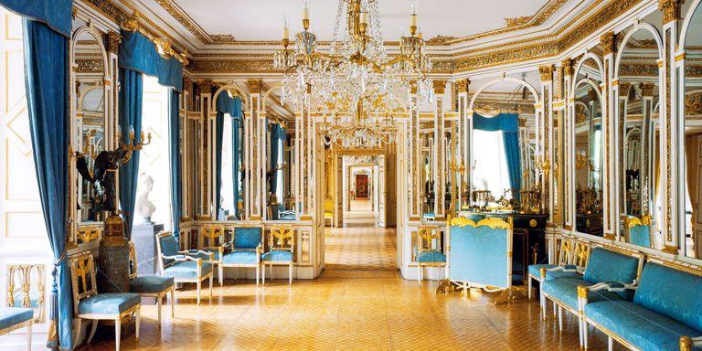 palatial room in Schloss St. Emmeram