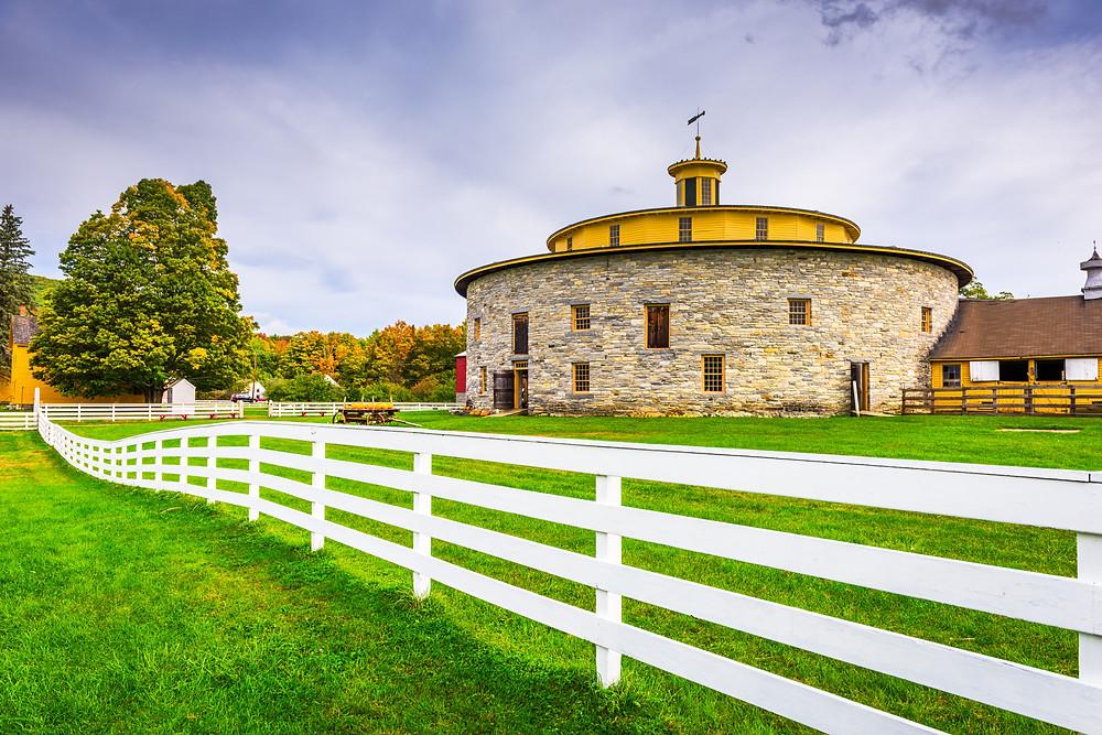 Hancock Shake Village, a former Shaker Colony near Pittsfield Massachusetts