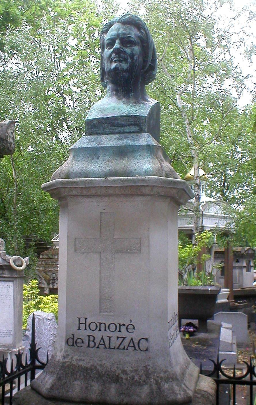 Honore de Balzac's grave