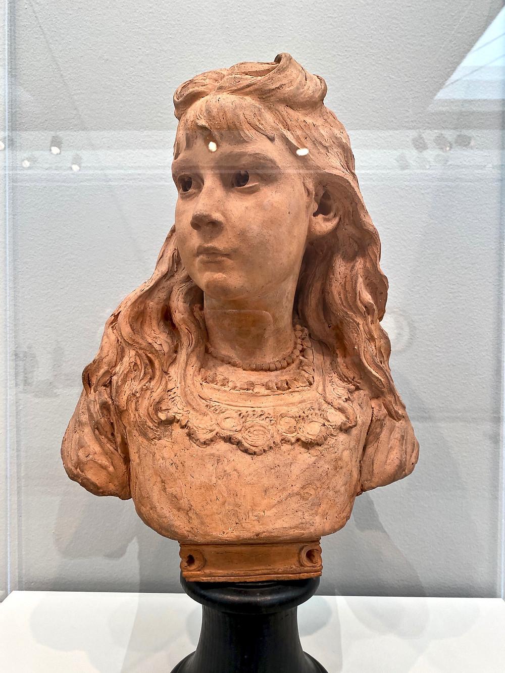 Aime-James Dalou, Dorothy Heseltine, 1874