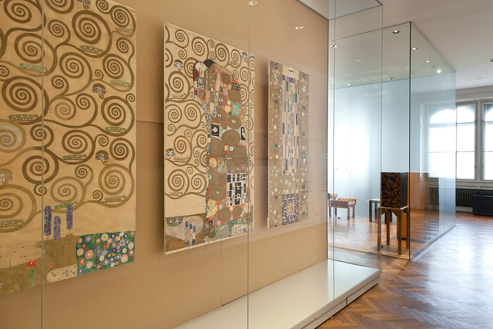 Gustave Klimt, Cartoons for the Stoclet Frieze in Brussels