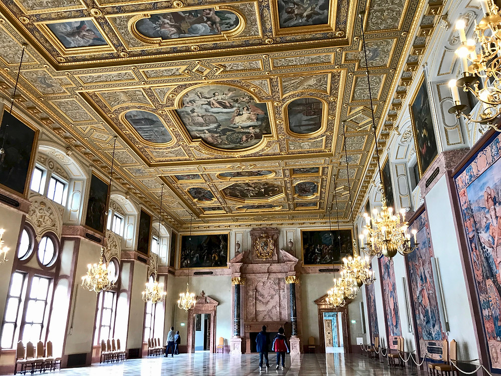 Niebelungen Halls in the Munich Residenz