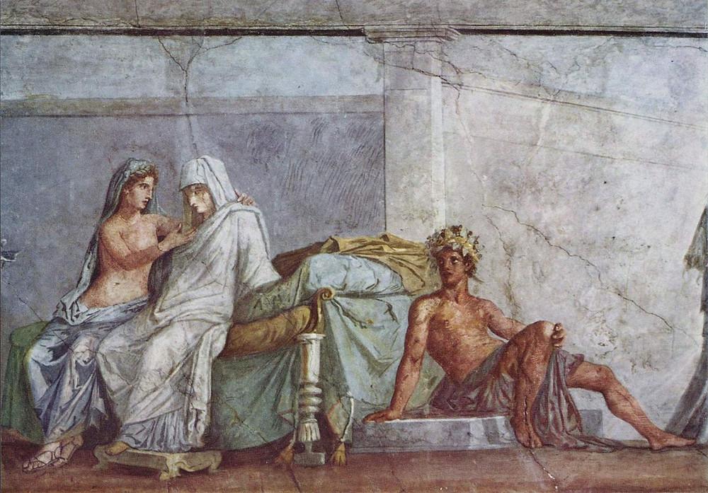 detail, Aldobrandini Wedding Fresco