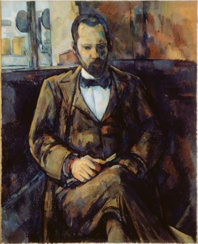 Paul Cezanne, Portriat of Ambroise Vollard, 1899