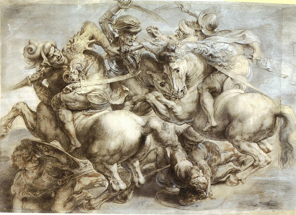 Peter Paul Rubens, Battle of Anghiari, 1440