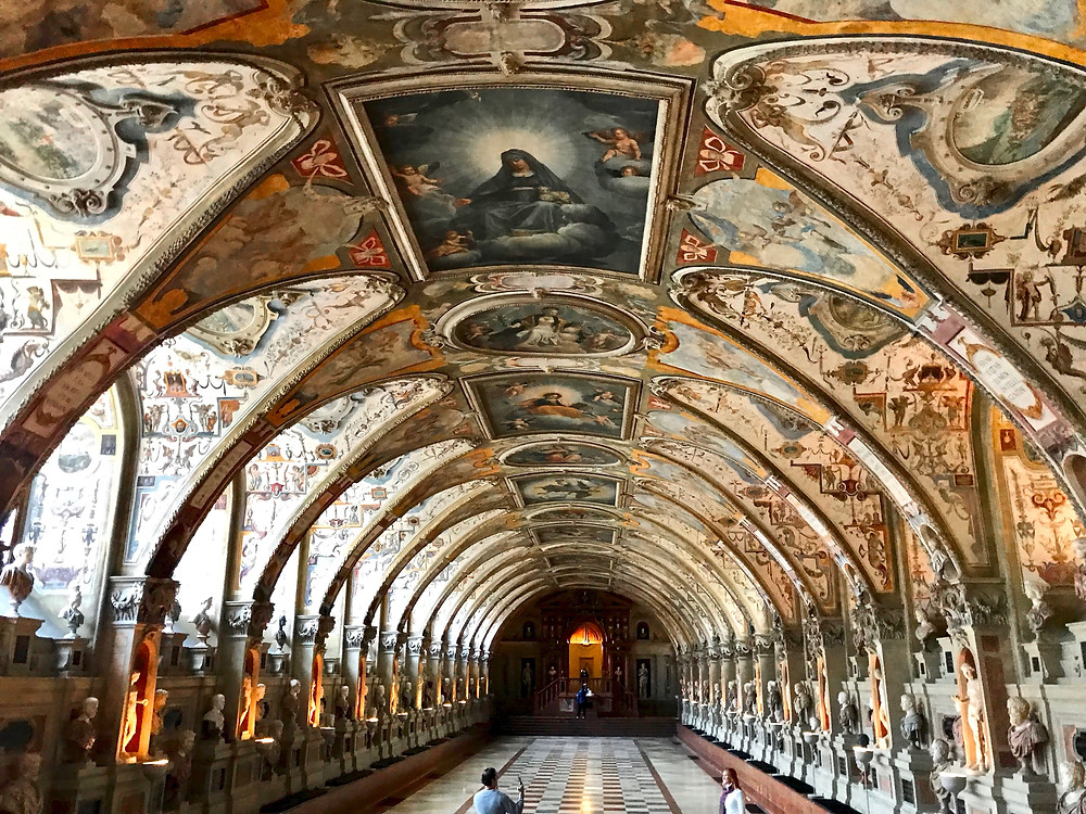 the Antiquarium in the Munich Residenz