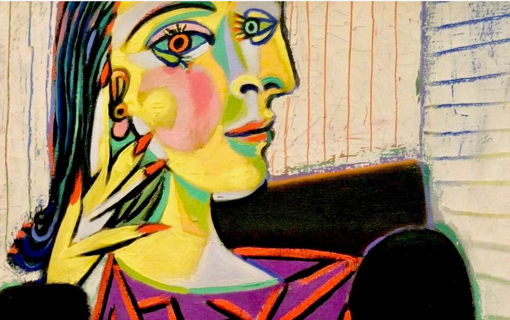 Picasso, Portrait of Dora Maar, 1937 -- in Paris' Picasso Museum