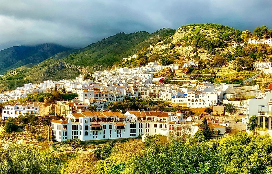 sugar cube homes in the pretty hilltop village of Frigiliana