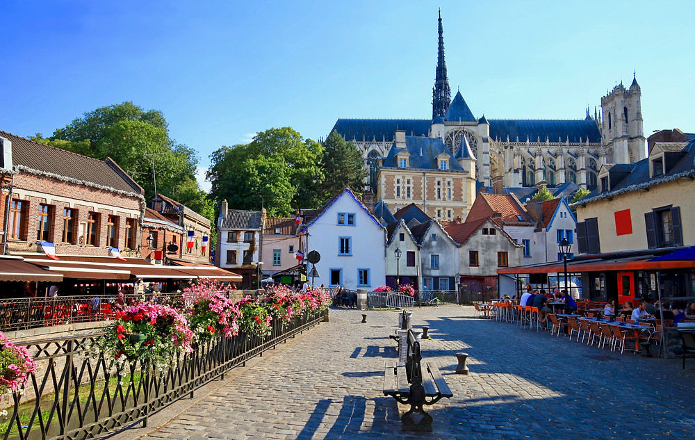Saint-Leu neighborhood of Amiens