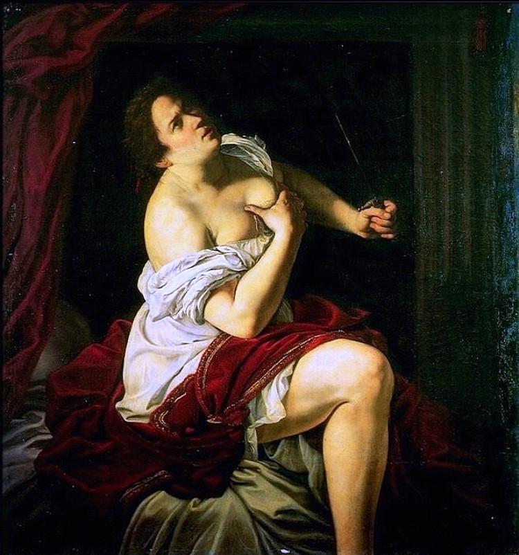 Artemisia Gentileschi, Lucretia, 1625