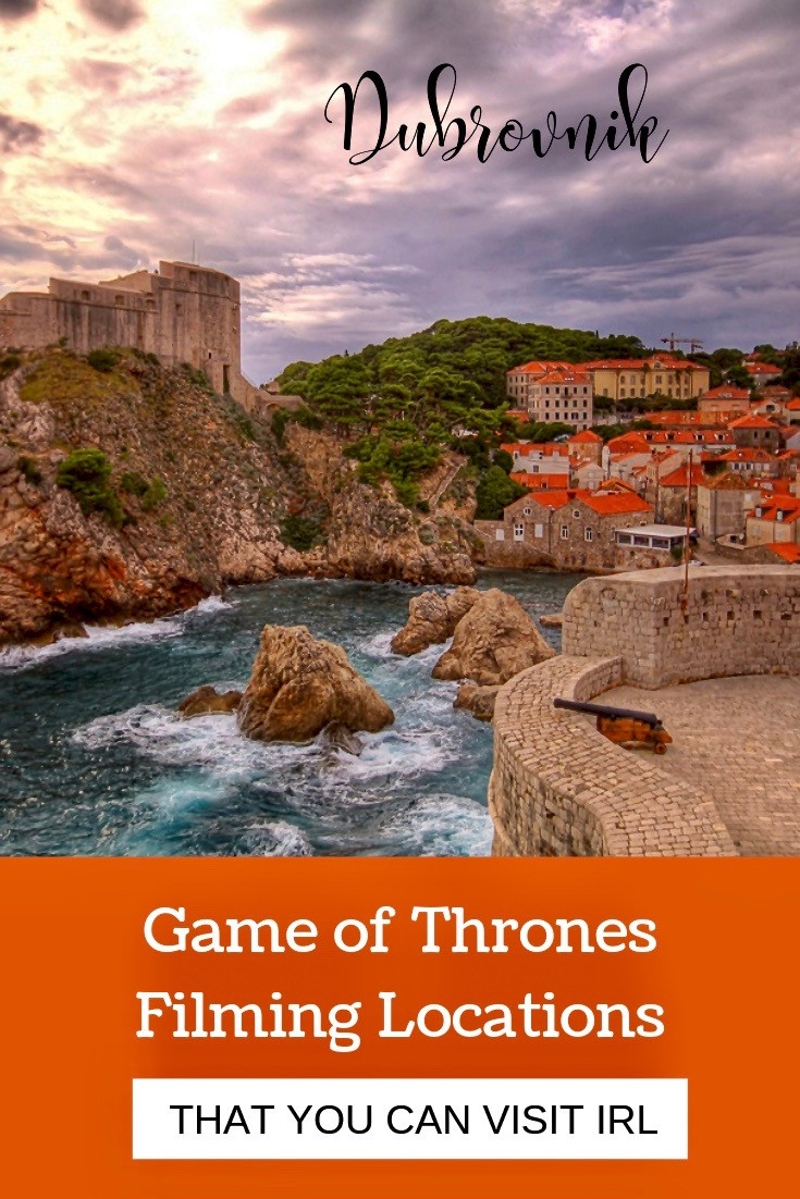 Game of Thrones Filming Locations in Dubrovnik Croatia