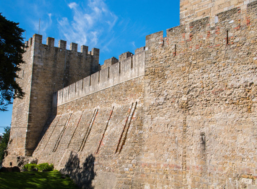 St. George's Castle:  Lisbon's Fetching But Fake Castle