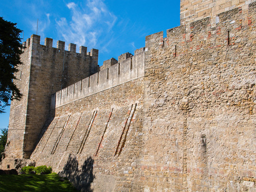 St. George's Castle:  Lisbon's Fetching But Fake Castle